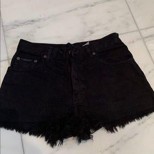 Calvin Klein Denim Cutoff Shorts